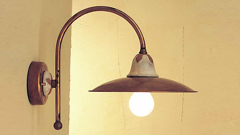 Applique da parete classiche ibyronap rug applique metallo