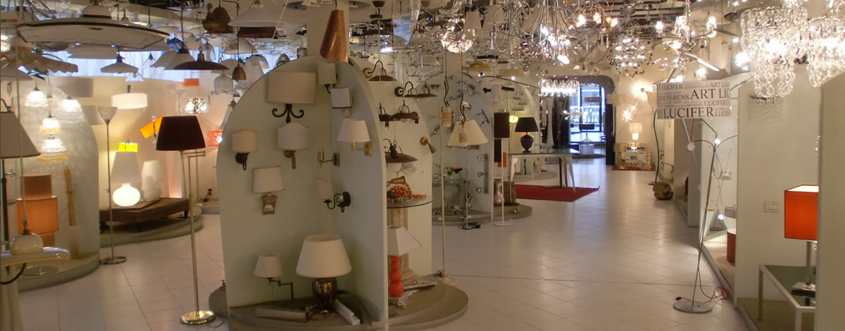Negozi Di Illuminazione A Firenze.Illuminazione Interni Esterni Magazzini Illuminazione